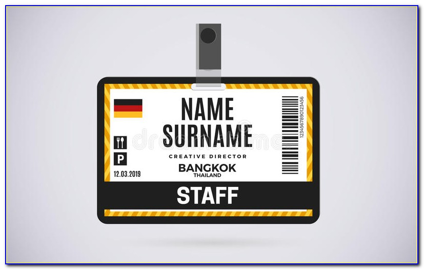 Habbo Staff Badge Template