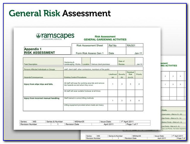 Healthcare Compliance Risk Assessment Template