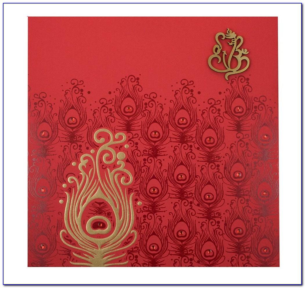 Hindu Wedding Card Invitations