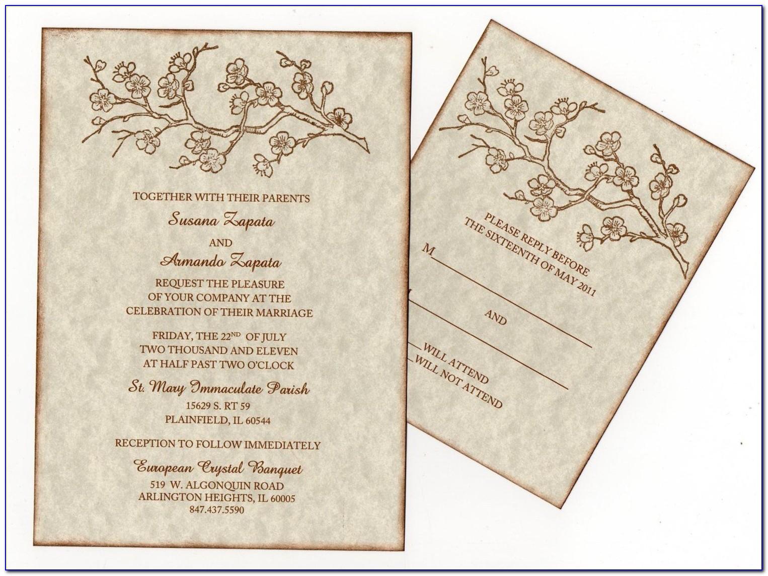 Hindu Wedding Cards Templates In English