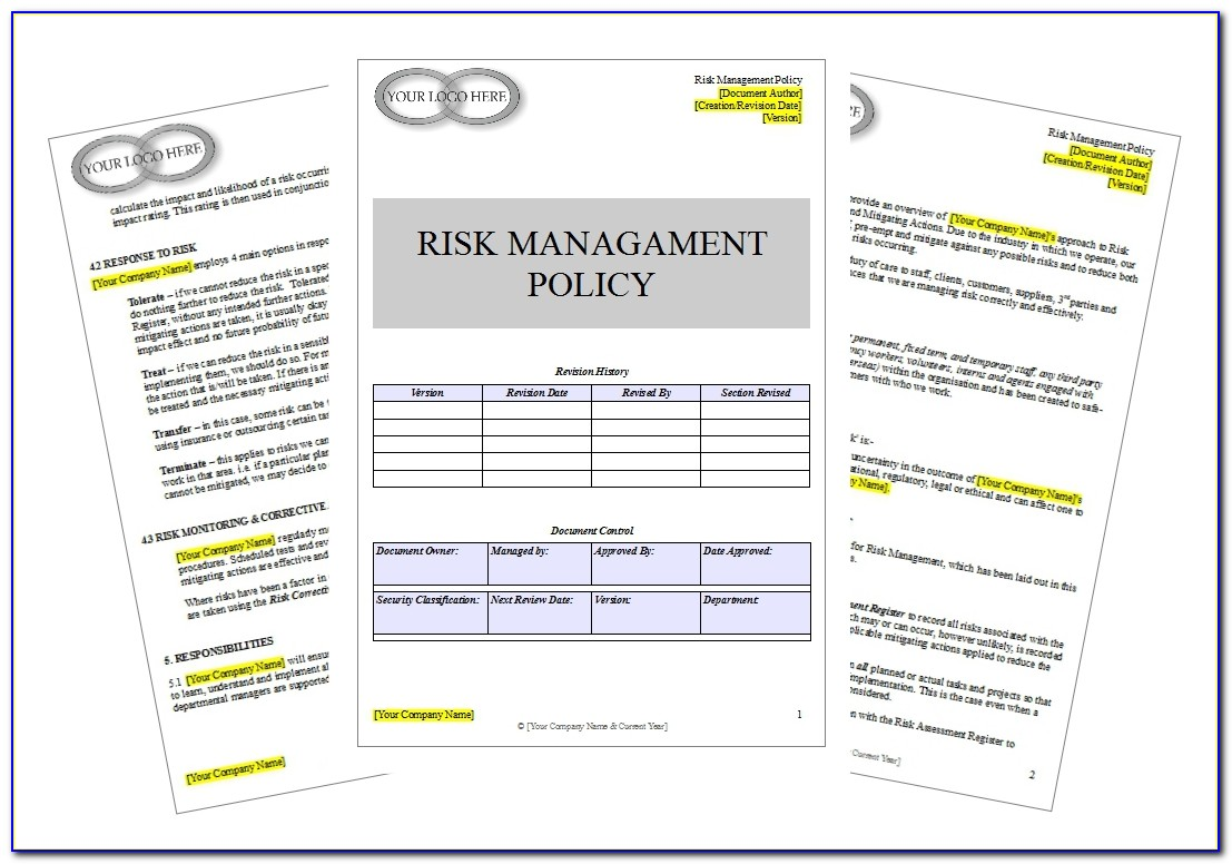 Hospital Compliance Risk Assessment Template