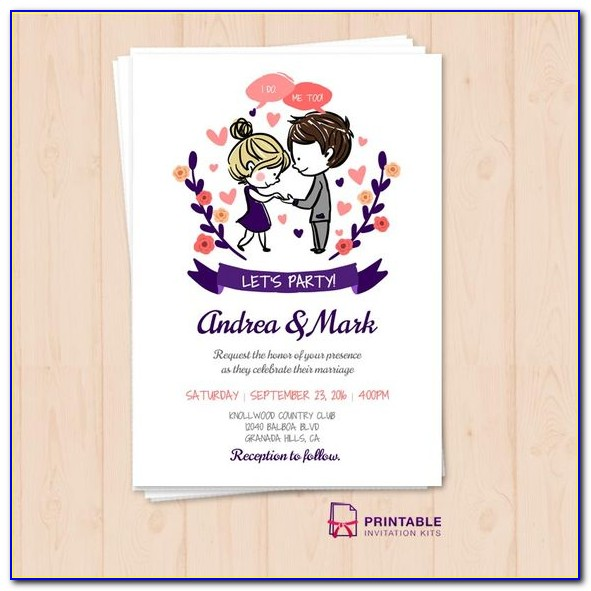 Indian Wedding Reception Invitation Templates Free Download