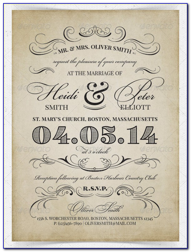 Indian Wedding Reception Invitation Templates Free