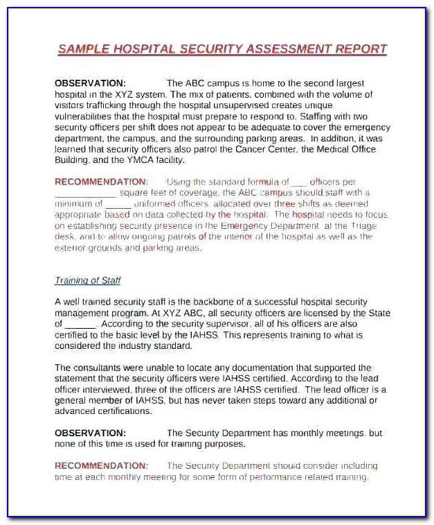 Information Security Awareness Program Template