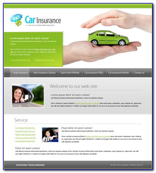 Insurance Website Templates Themeforest