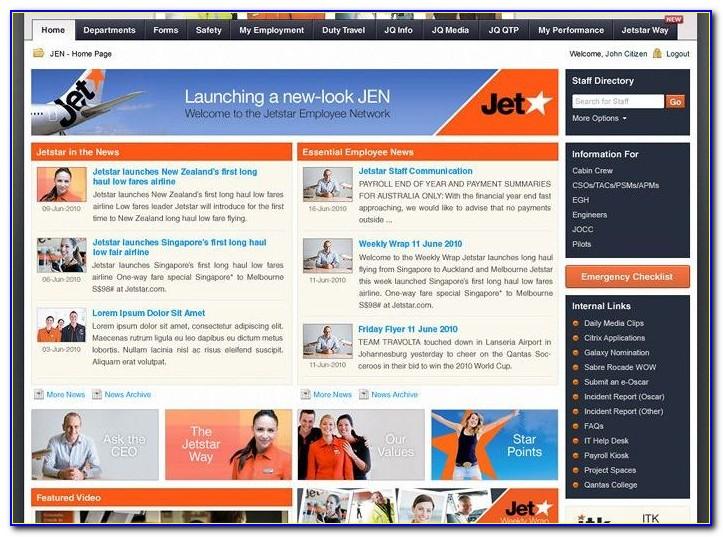 Intranet Portal Website Templates