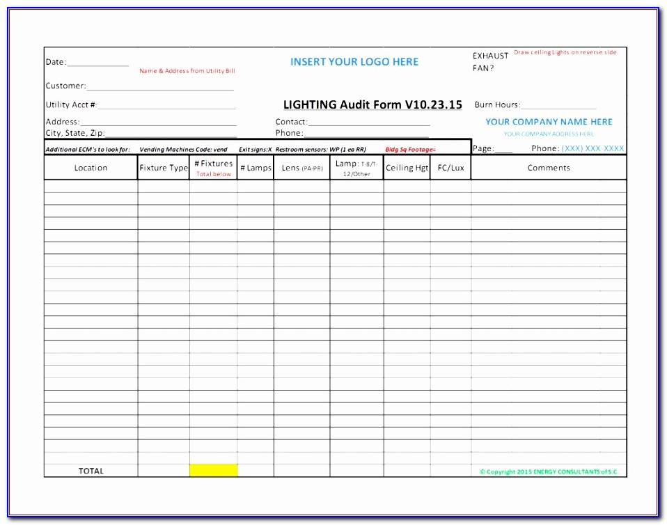 Audit Checklist Template Excel Rebnk Fresh Internal Audit Checklist Template Excel Audit Form Templates