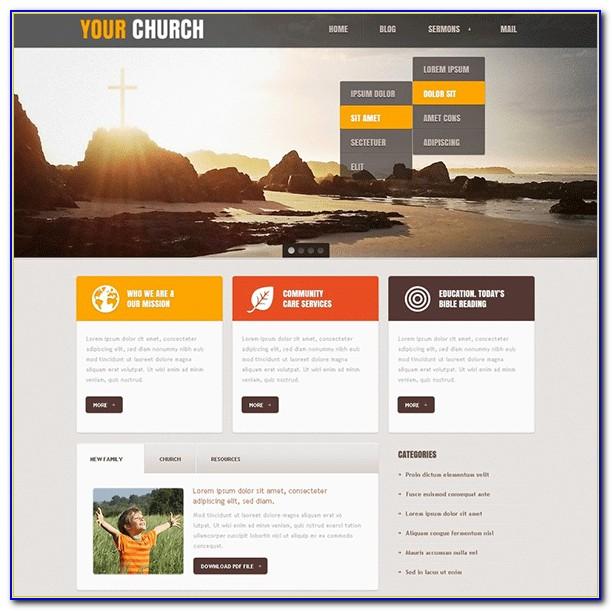 Joomla Church Templates Free Download
