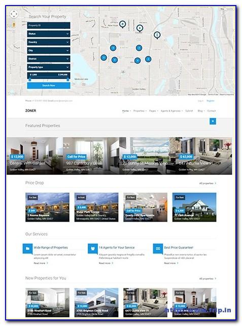 Joomla Real Estate Template Free Download