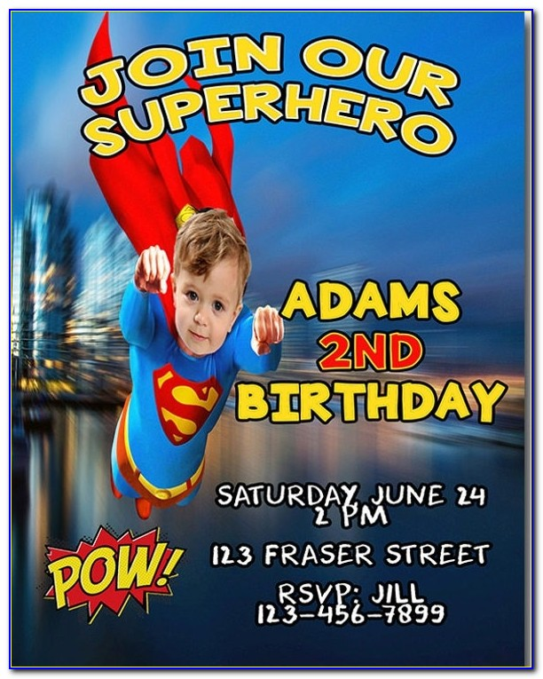 19 + Superhero Birthday Invitations – Free Psd, Vector Eps, Ai For Justice League Invitation Template