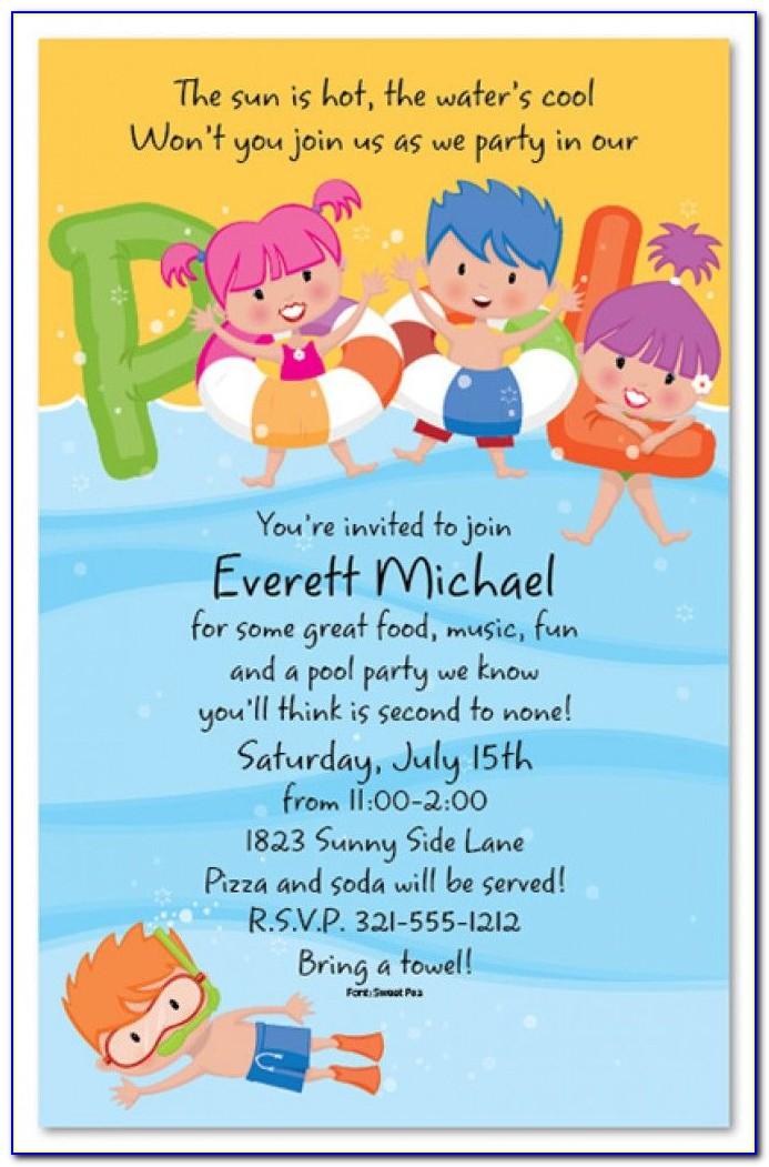 Kid Invitation Templates