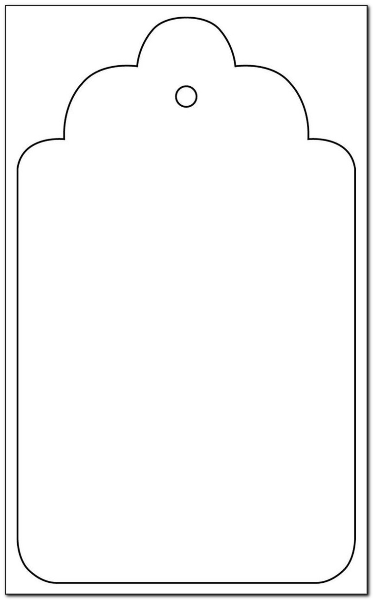 Large Gift Tag Template Free