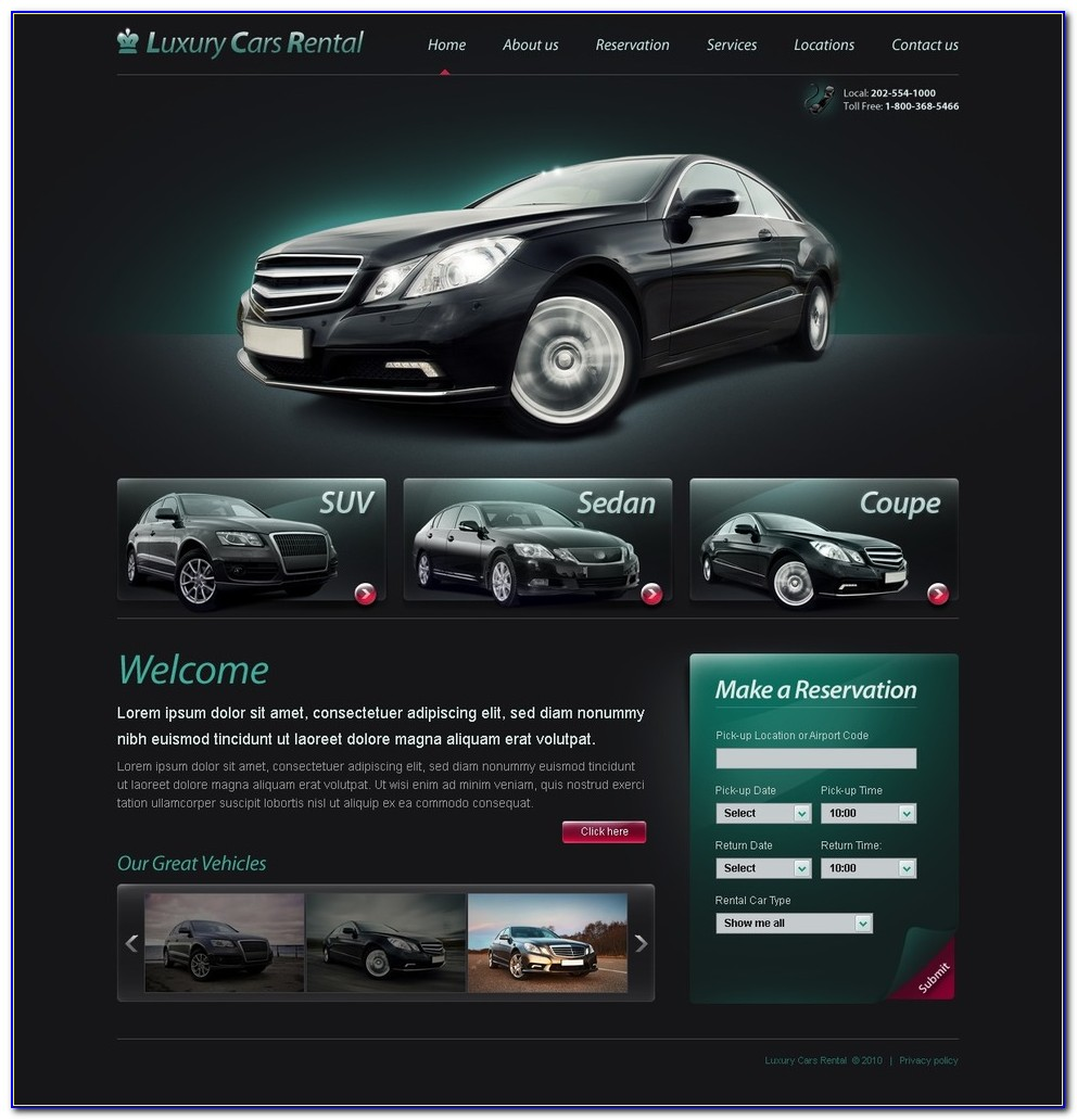 Limo Website Template