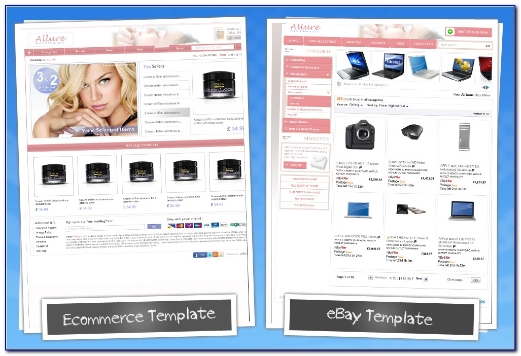 Listing Template Ebay Free