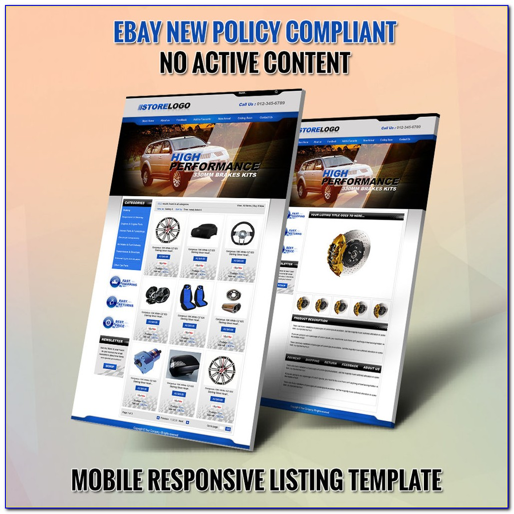 Listing Template Tutorial Ebay