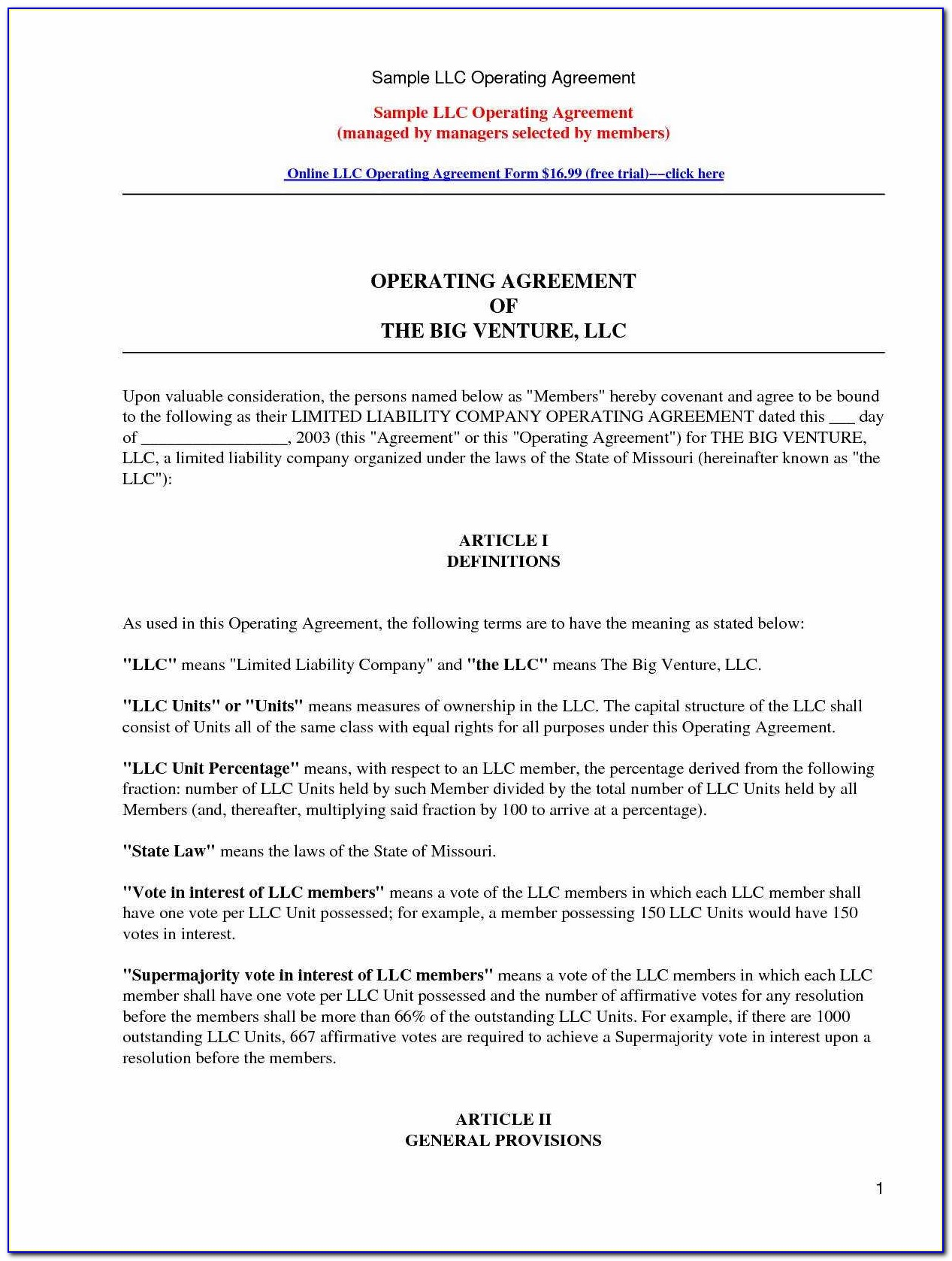 Llc Financial Statement Template
