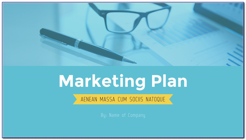 Marketing Plan Presentation Slide Template