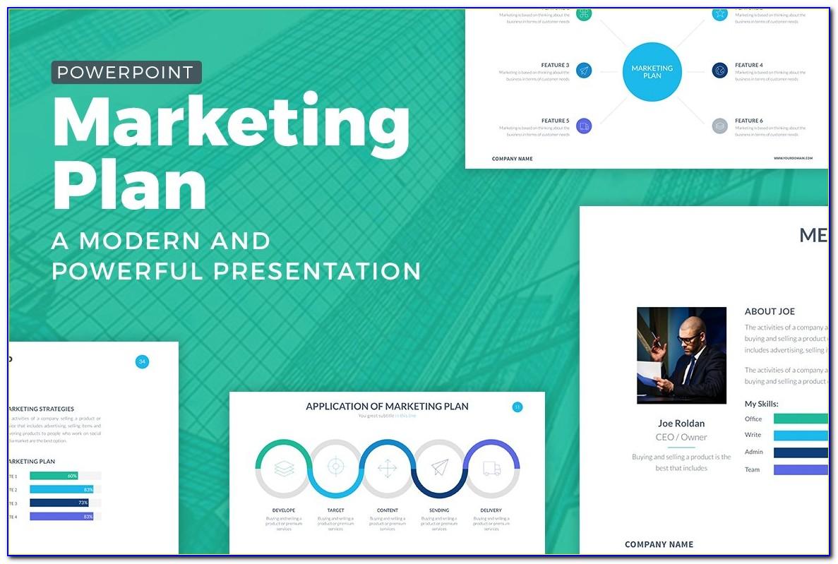 Marketing Plan Presentation Template Free Download
