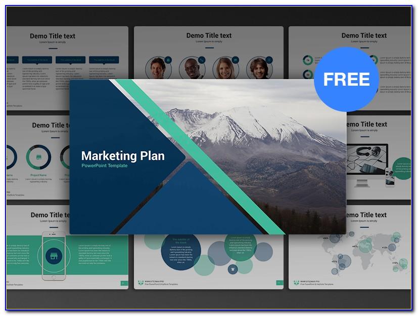 Marketing Plan Presentation Template Free