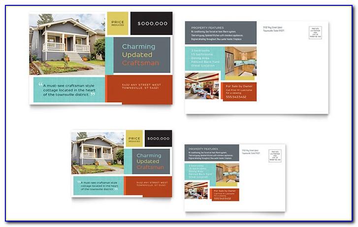 Marketing Postcard Layout