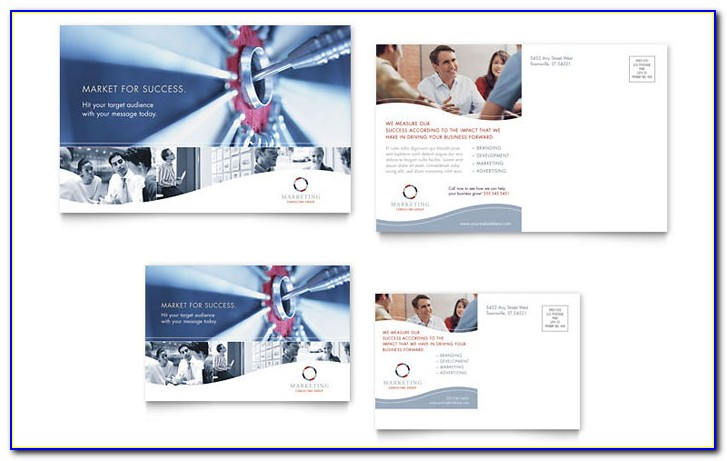Marketing Postcard Templates Free