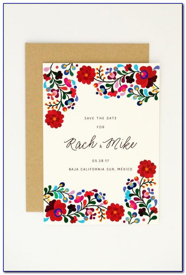 Mexican Wedding Invitation Templates Free
