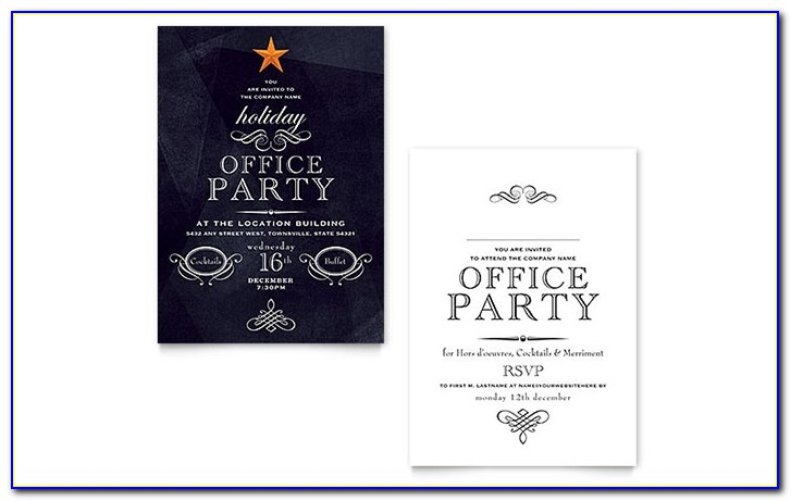 Office Holiday Party Invitation Template Design Office Christmas Party Flyer Templates Office Christmas Party Flyer Templates