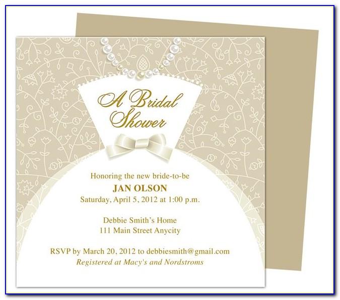 Microsoft Office Publisher Wedding Invitation Templates