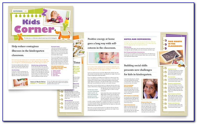 Microsoft Publisher 2007 Newsletter Templates Free Download