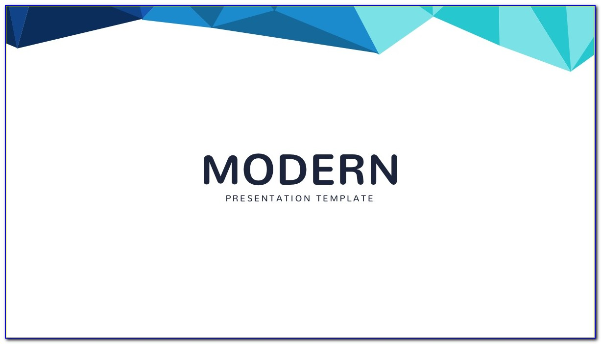 Modern Powerpoint Presentation Templates Free Download