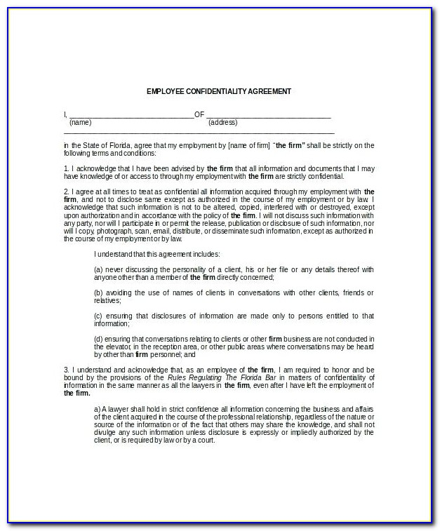 Ncnd Agreement Meaning