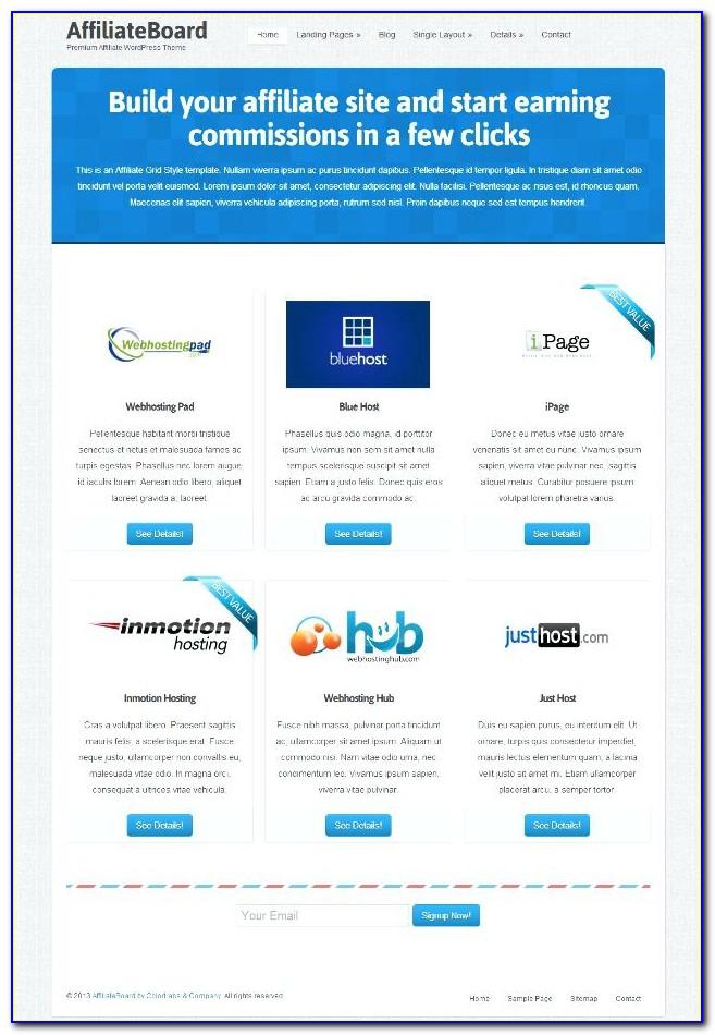 Network Marketing Website Templates Free Download