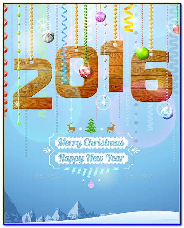 New Year Greeting Cards Designs