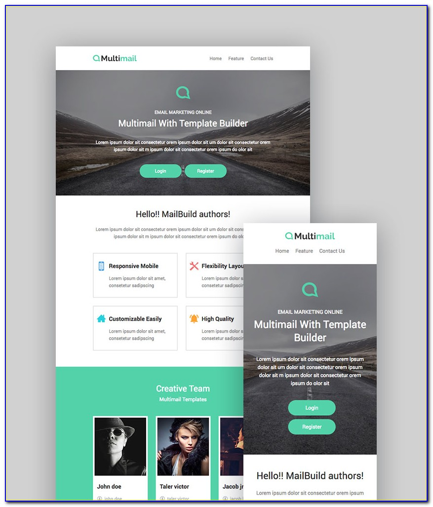 Newsletter Template For Mailchimp