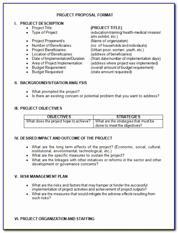 Sample Project Proposal Template 9 Free Documents In Example Ngo Project Proposal Template New Pdf Word Excel Download Templates Awege