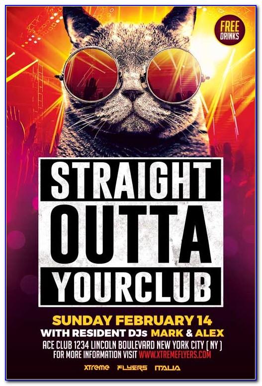 Nightclub Flyer Templates Psd