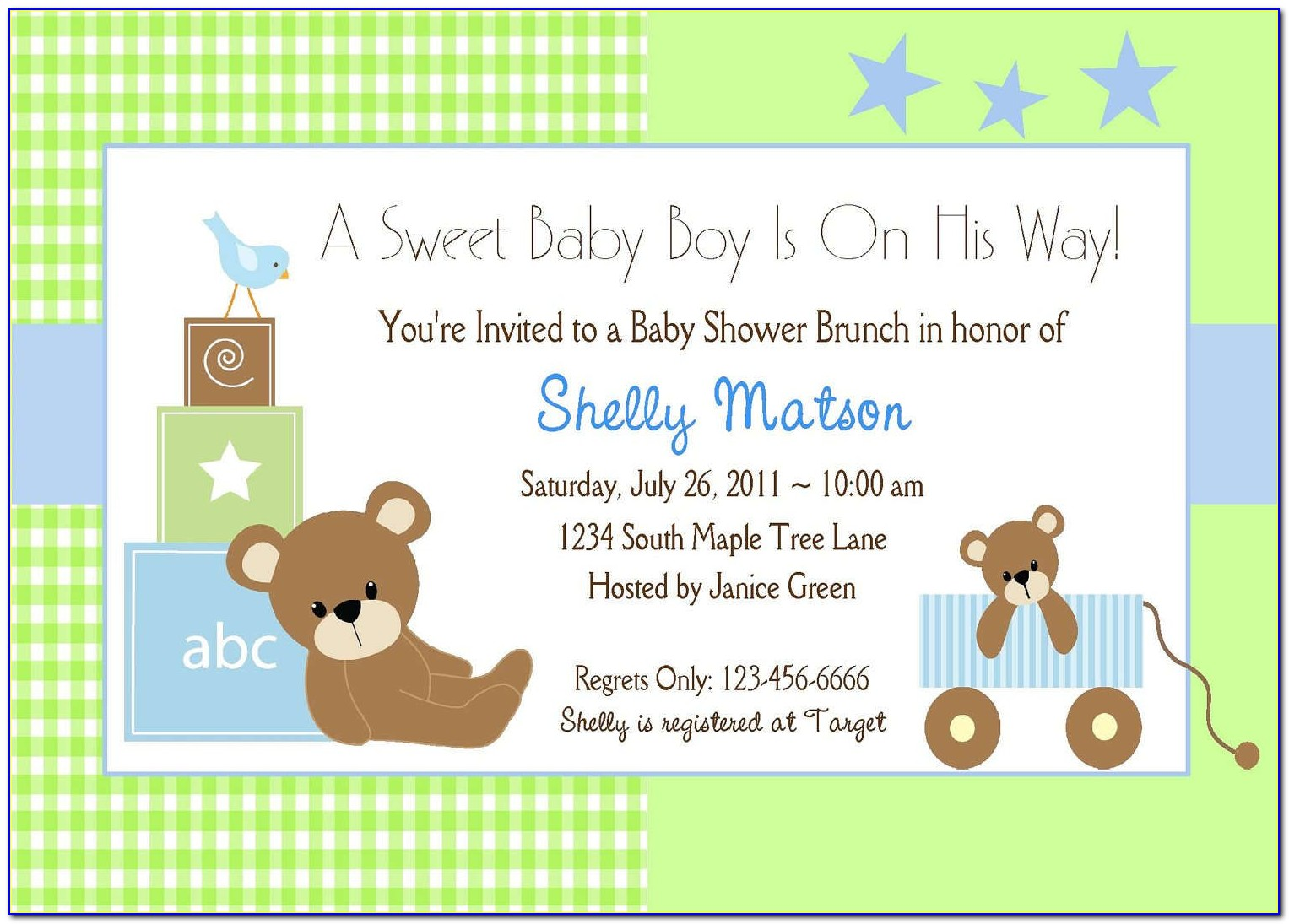 Online Baby Shower Invitation Maker