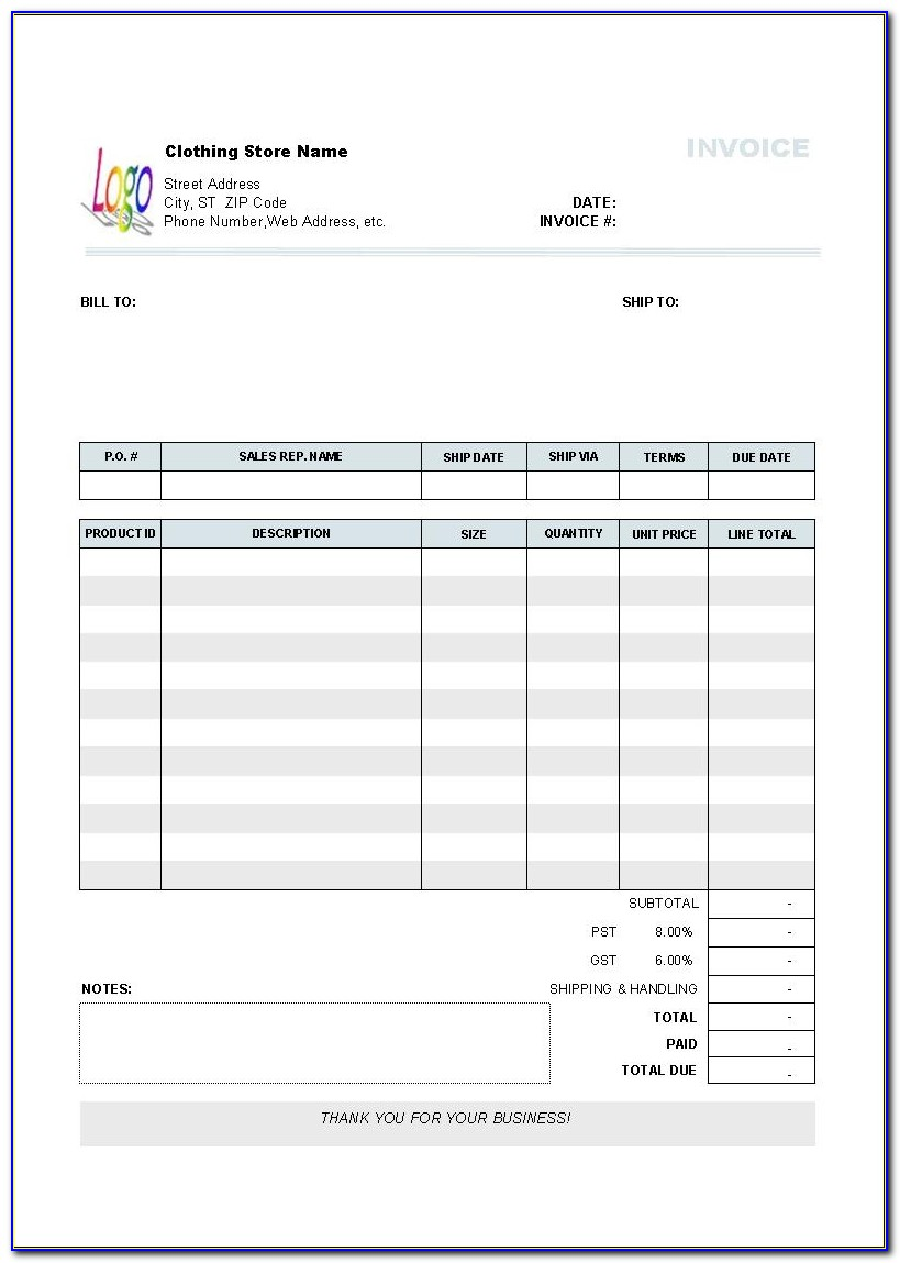 Performance Invoice Template Free Invoice Performance Invoice Template