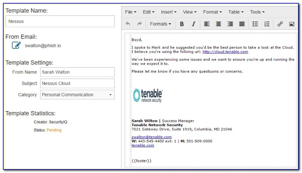Phishing Email Templates Download
