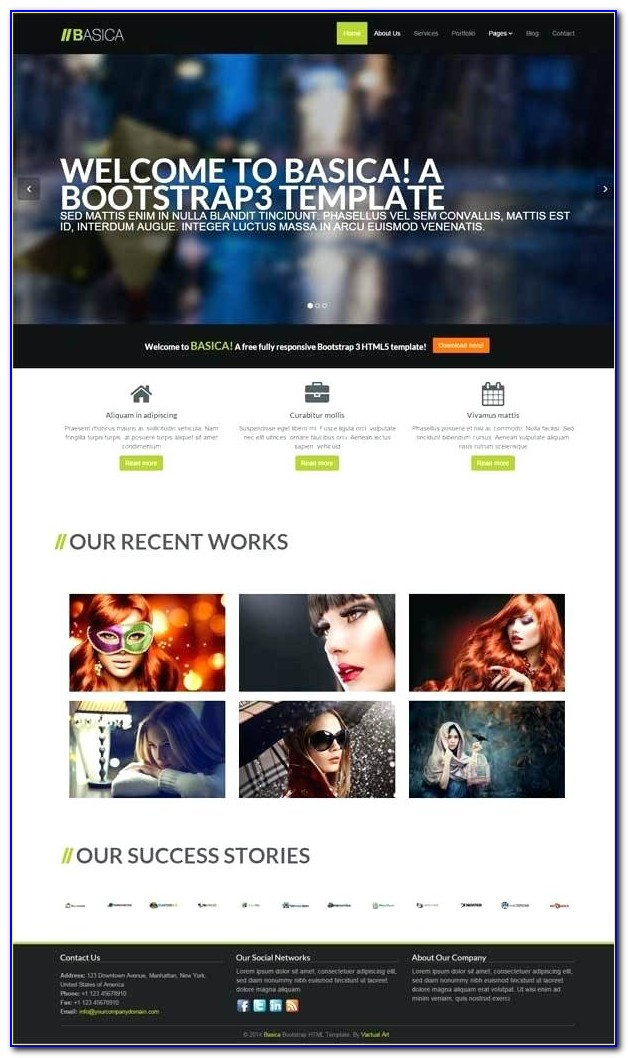 Photography Website Templates Free Download Html With Css