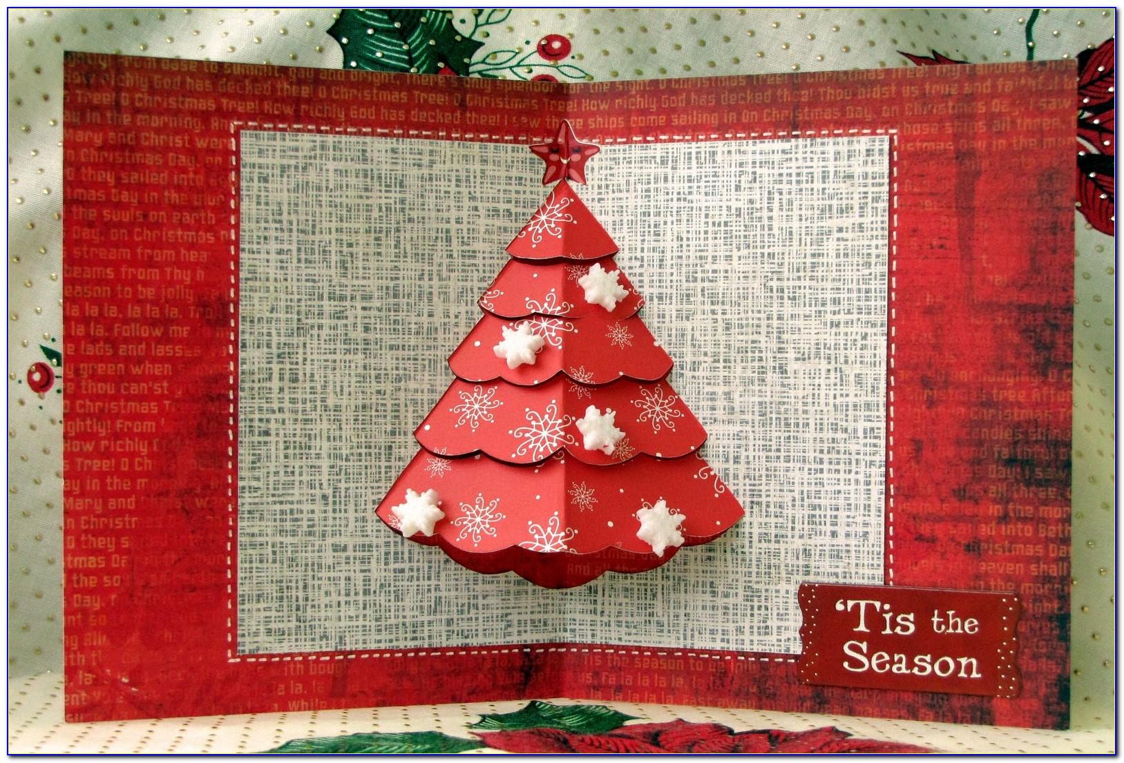 Pop Up Christmas Card Templates Ks2