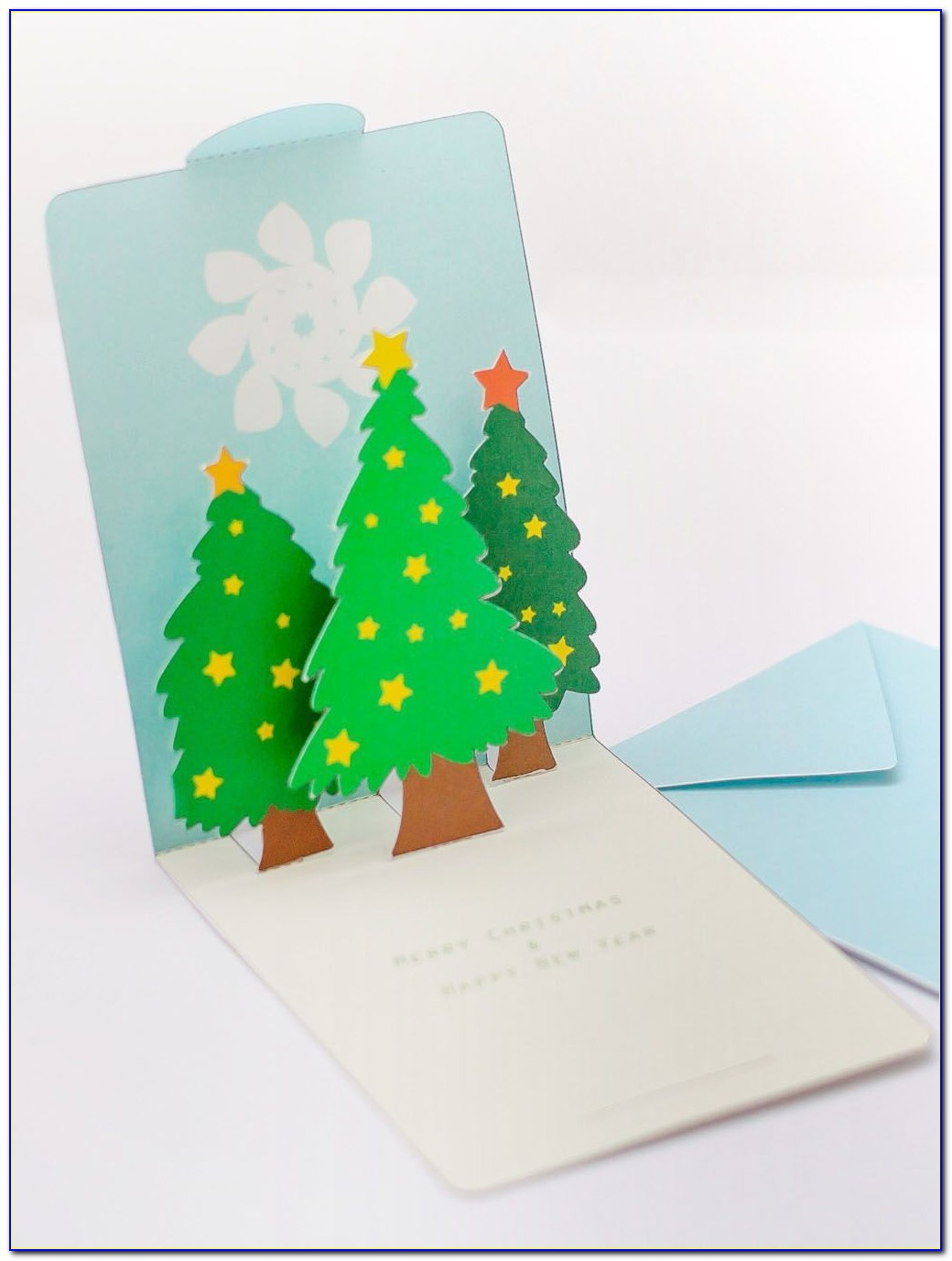 Pop Up Christmas Card Templates Pdf