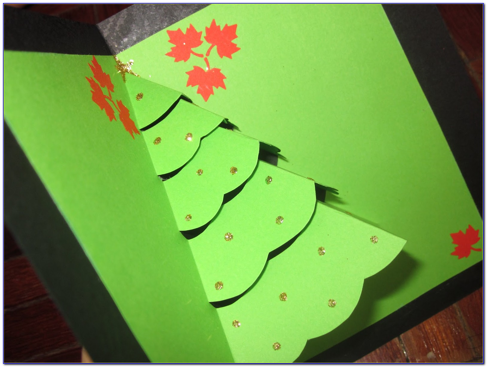 Pop Up Christmas Cards Template