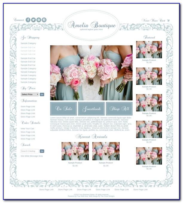 Premade Boutique Website Templates