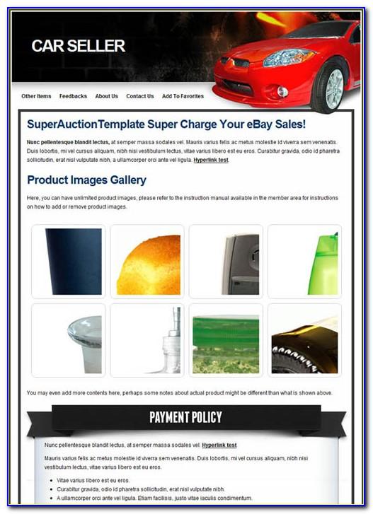 Premium Ebay Templates