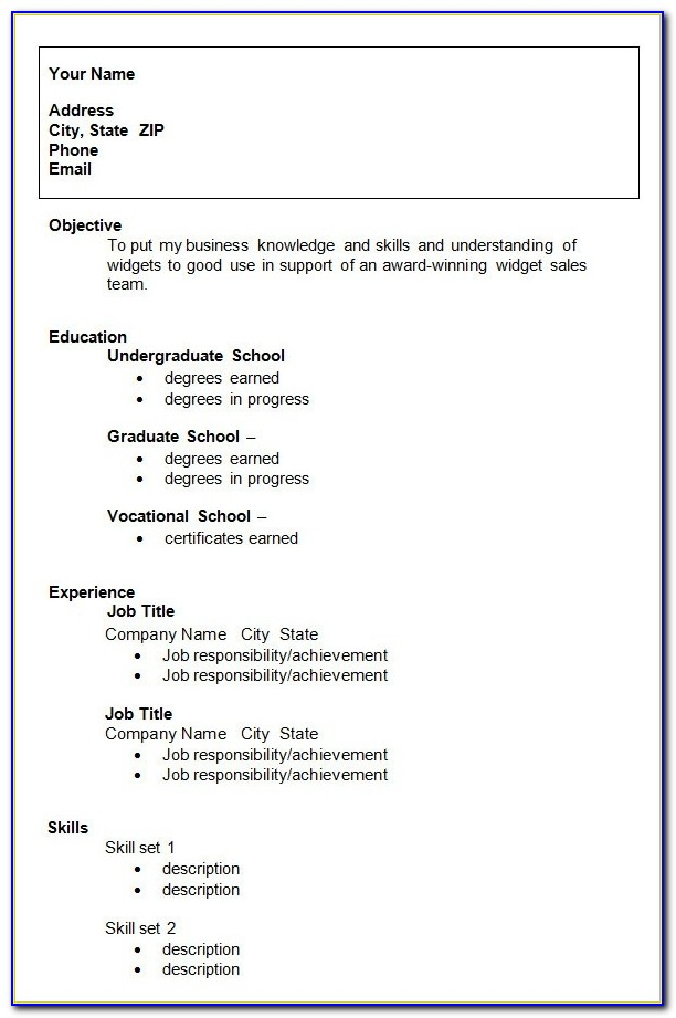 10+ College Resume Template, Sample, Examples | Free & Premium Templates With Resume Template Free Download For Fresh Graduate