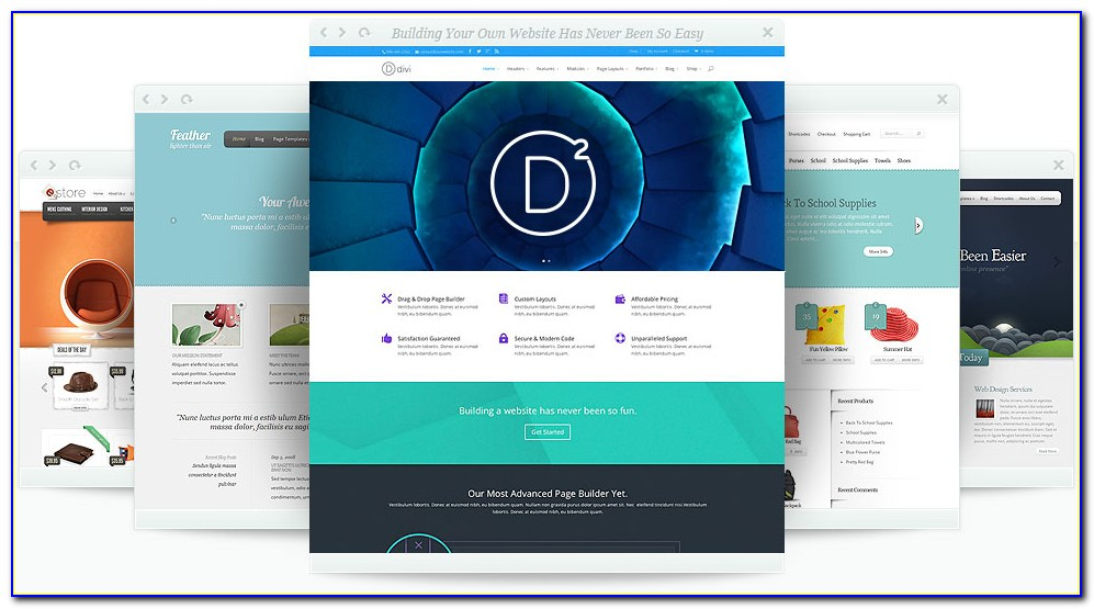 Premium Wordpress Templates 2018