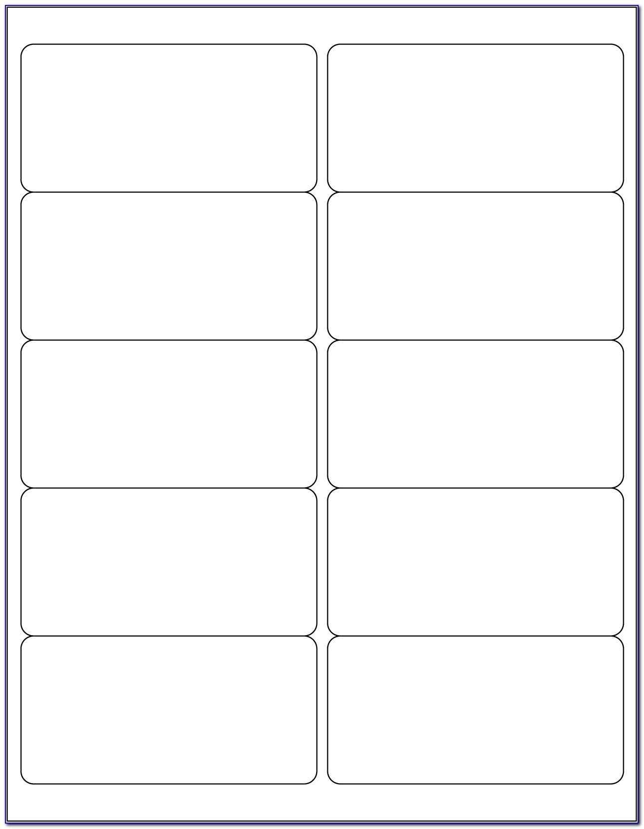 Print Labels Template Word