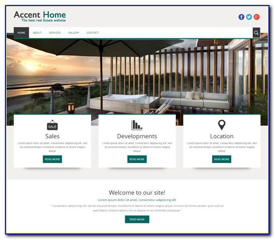 Property Websites Templates Themeforest