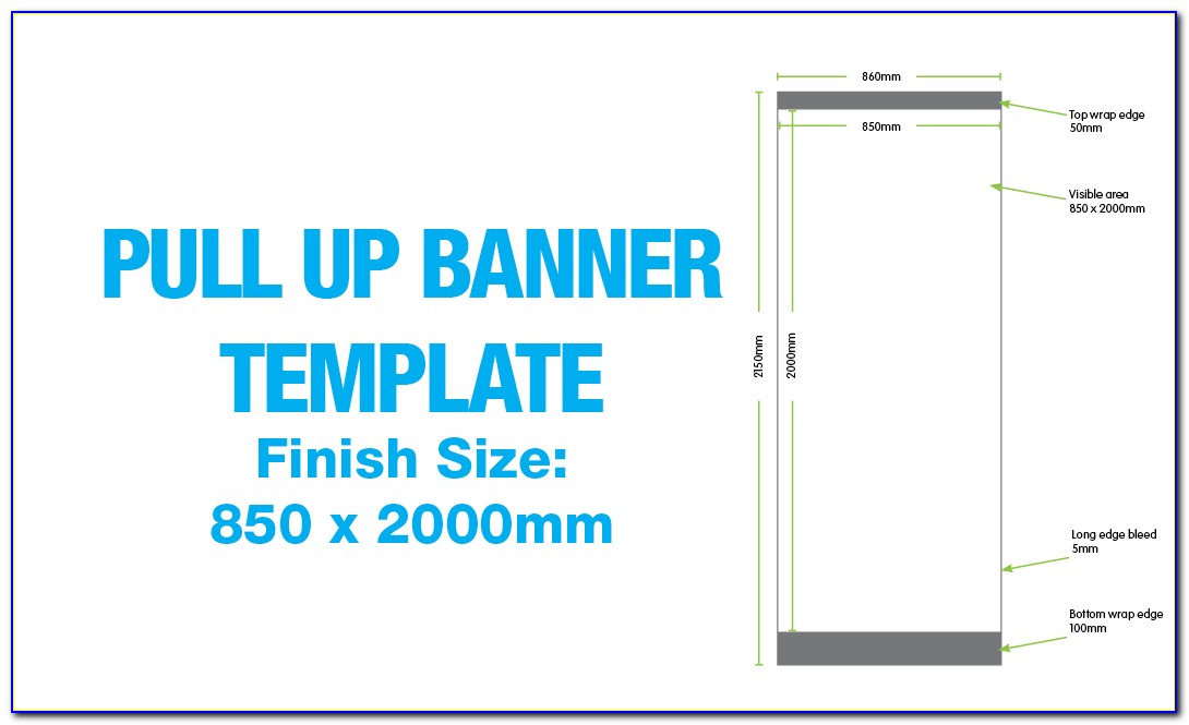Pull Up Banner Template Powerpoint